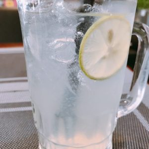 Fresh lemon juice