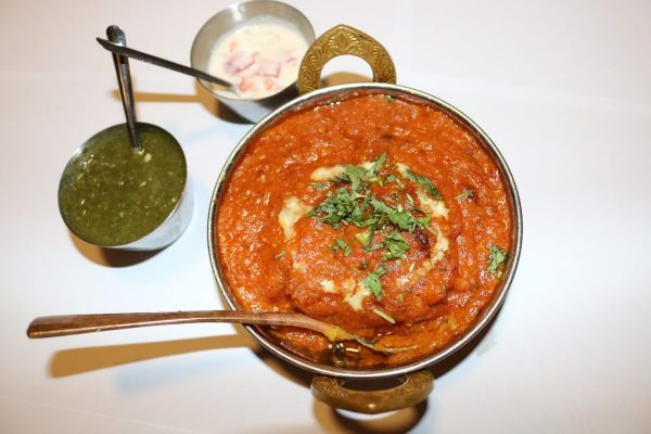 Vegetable red handi